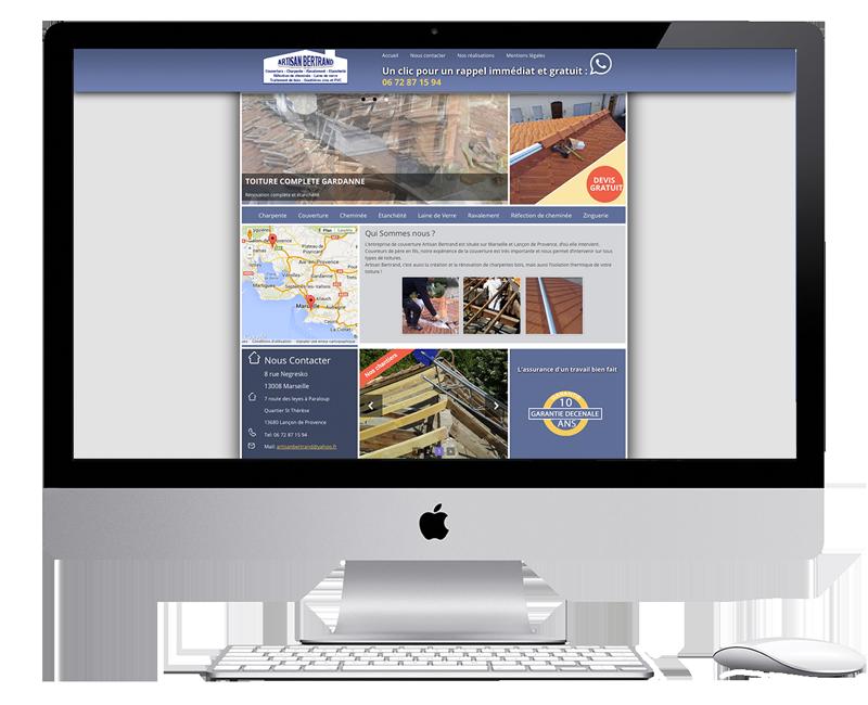 roofing website with wordpress