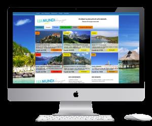 Near Marseille, this travel agency needed a wordpress website