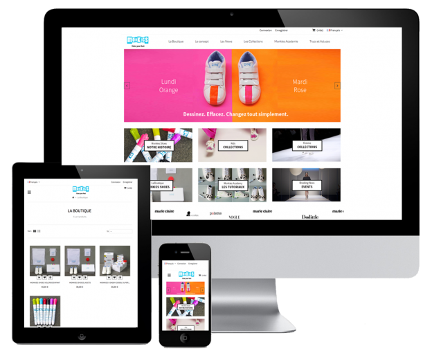 Responsive Prestashop on tablet & mobile