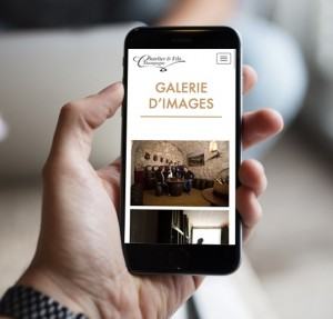 A Reponsive gallery on mobile