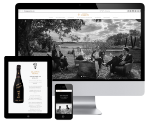 Champagne Salmon website