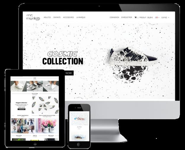 Mrmonkies redesign prestashop website