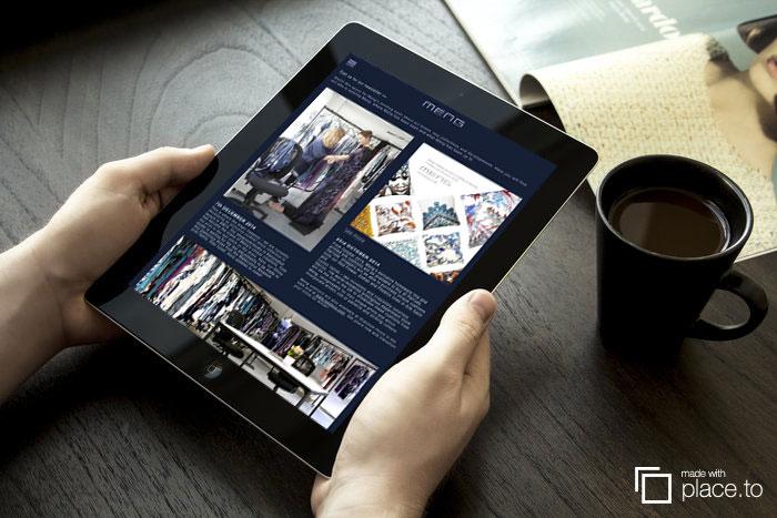 Wordpress adaptive on tablet in portrait