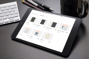 Woocommerce website on ipad