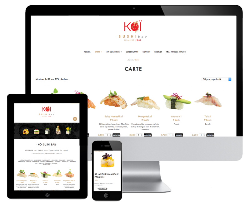 woocommerce website for delivery restaurant