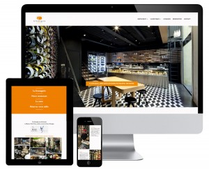 Wordpress website for a restaurant in Aix en Provence