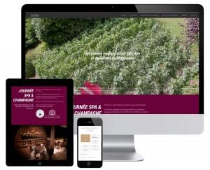 Site internet Spa Beauté Champagne Reims